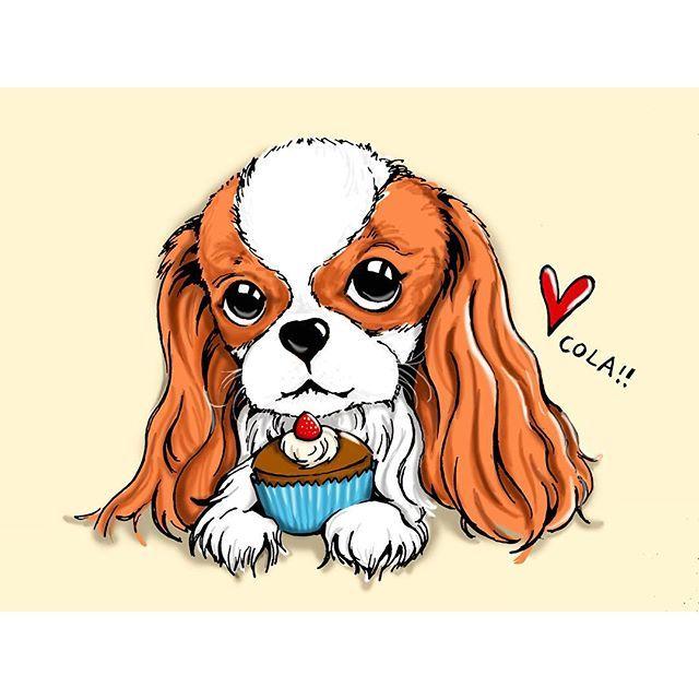 Cola the cavy - Mama's friend luna drew me a profile protrait! I REALLY love it. <3