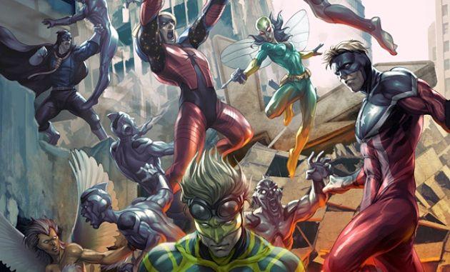 Recorrido por los superhéroes de Archie Comics