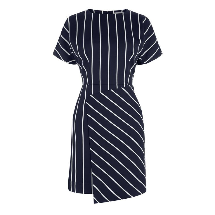 STRIPE DRESS | Warehouse