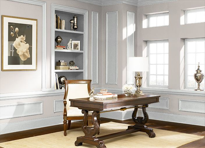 Taupe tease. The ColorSmart by BEHR® Android App lets me paint a room with colors I select. How does it look?