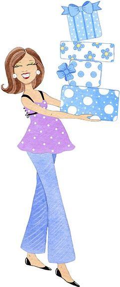 Embarazadas para baby shower - Imagenes y dibujos para imprimirTodo en imagenes y dibujos
