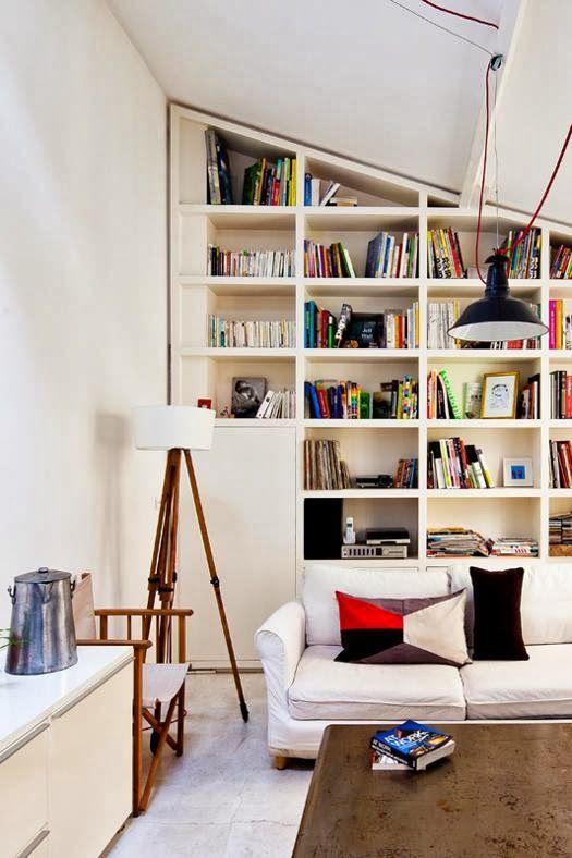 Chic Paris Loft With Three Half Levels | DigsDigs