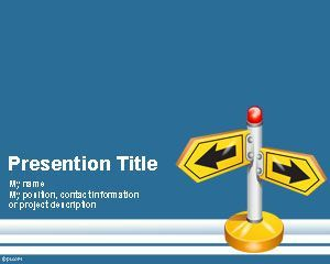 Follow Direction PowerPoint Template