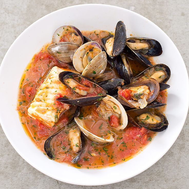 Fish and shellfish piled high in a flavorful broth make this San Francisco stew a project. Could we simplify the shopping and cooking and still maintain its indulgent appeal?