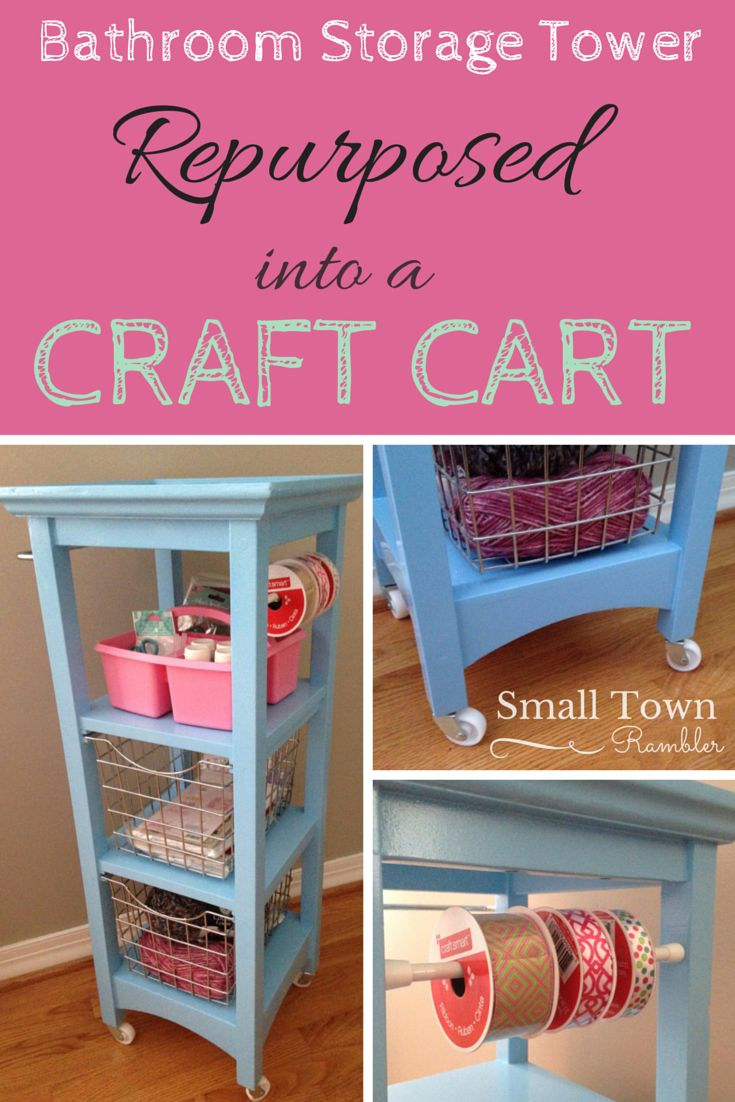 103 best images about small town rambler projects photos for Michaels craft storage cart