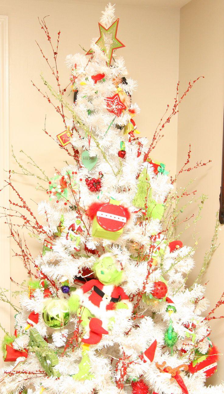 grinch themed christmas tree