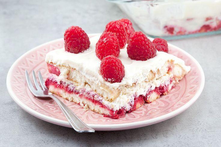 Sweet Raspberry Tiramisu