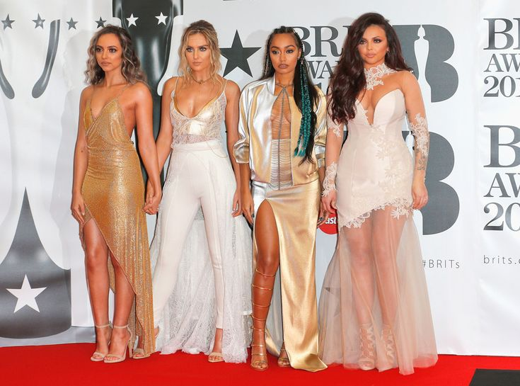 Little Mix from Brit Awards 2016: Red Carpet Arrivals | E! Online