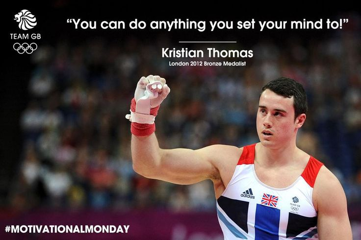 Kristian Thomas is in the gymnastics team final at #2014Worlds What's his motto for motivation? #MotivationMonday