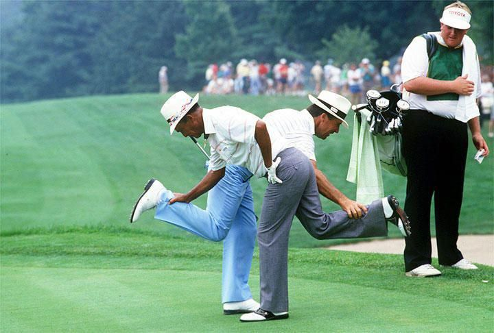 Chi Chi Rodriguez And Gary Player Twitter Si Vault It S Chi Chi Rodriguez S Golf School Golf Humor Golf Tips