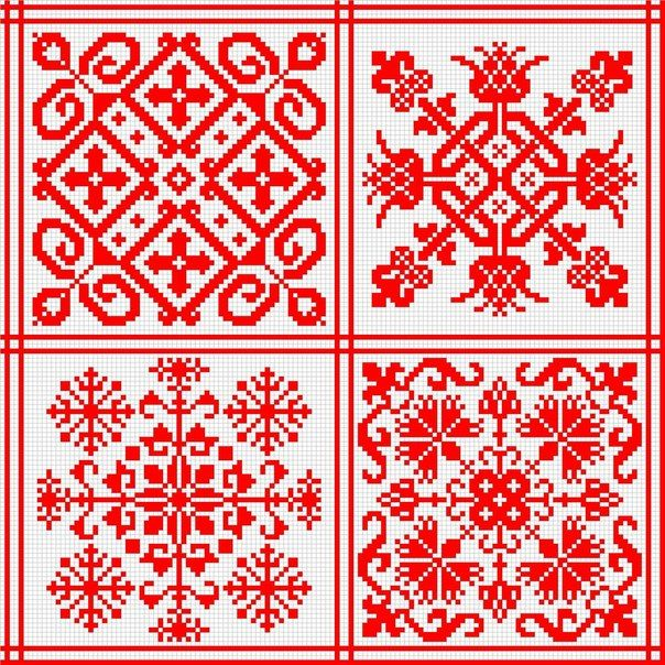 traditional russian linen patterns | у невесты есть старший брат.