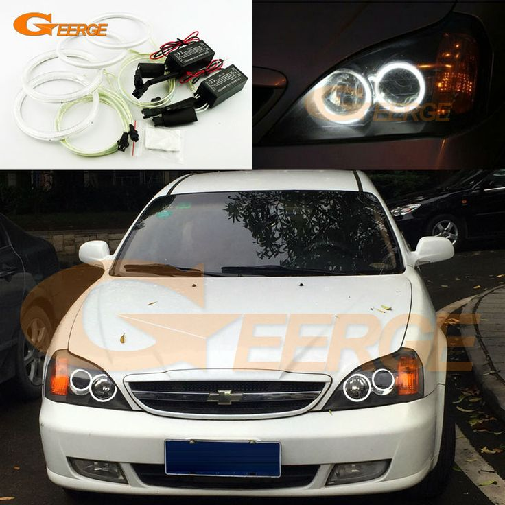 For Chevrolet Epica 2004 2005 2006 Excellent Angel Eyes Ultra Bright Illumination Ccfl Angel Eyes Halo Ring Kit Chevrolet Led Angel Eyes Angel Eyes