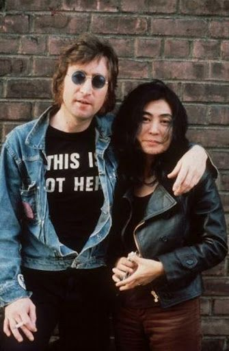 john & yoko......LOVE THIS PICTURE OF JOHN AND YOKO.......THEY WERE SO MUCH IN LOVE.......I COULD SEE IT ON THEIR FACES