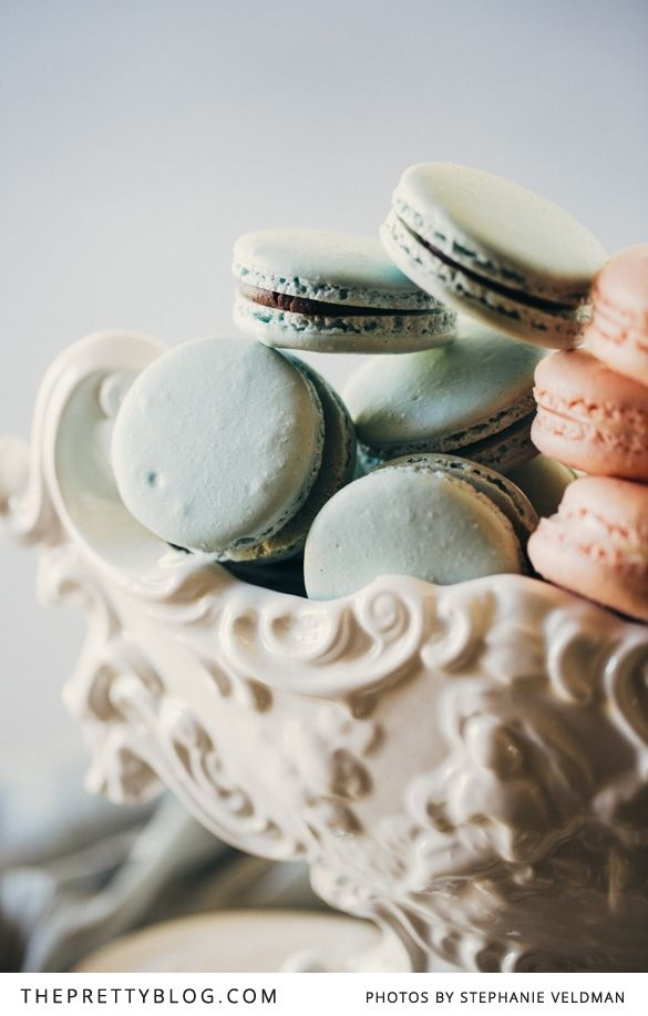 Pastel Macarons: 37 Best Images About { Mint / Blue } On Pinterest