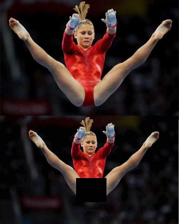 A Primeira Imagem é Verdadeira A Segunda é Falsa Bruce Gymnastics