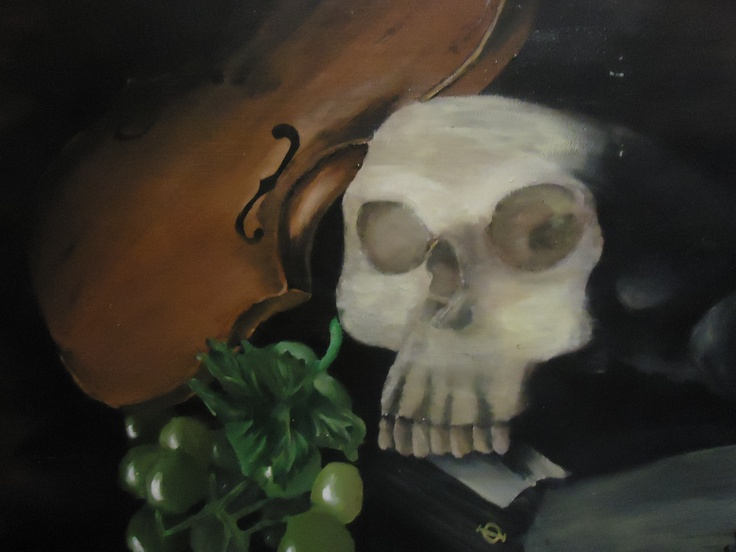 Realistic still life, 2012 (Acrylic paint)