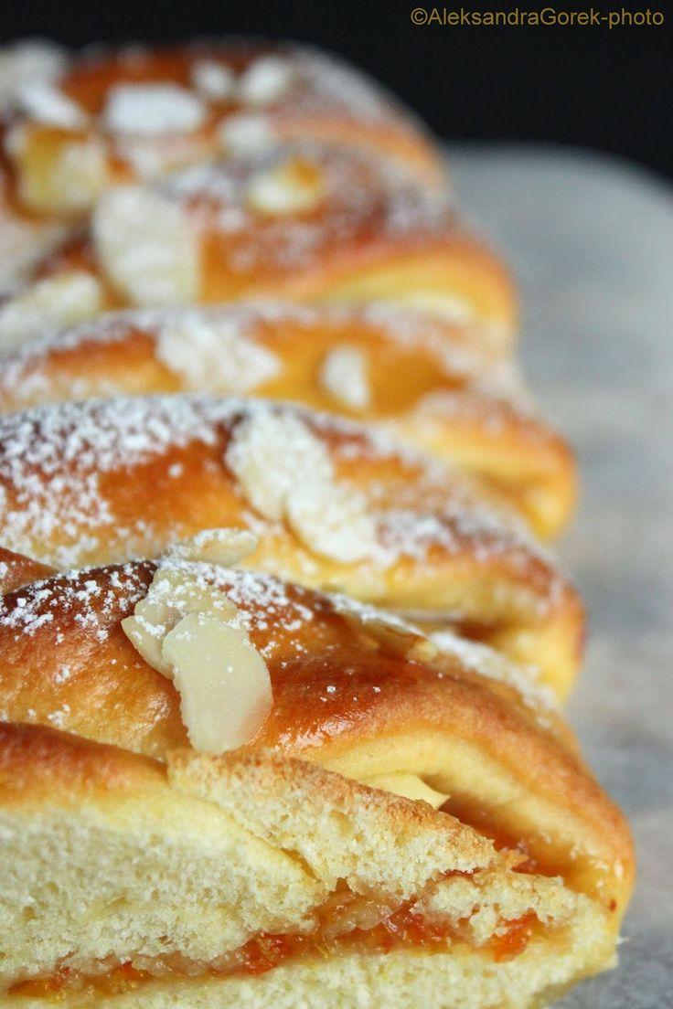 Vanilla&Staubzucker: Treccia con la marmellata di arance