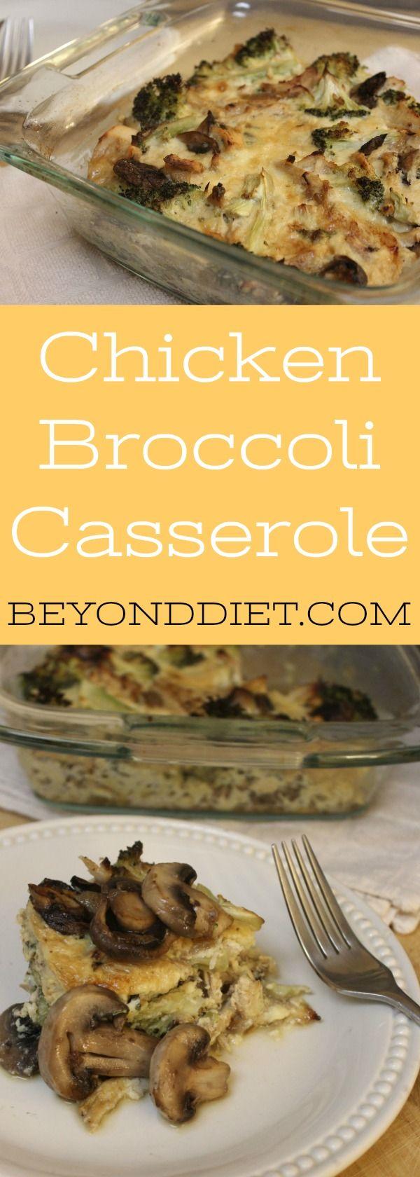 Chicken Broccoli Casserole | Beyond Diet Recipe