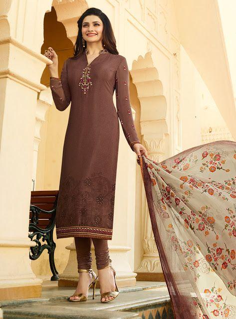 90c553d991 Latest Indian Long Salwar Kameez Designs 2018-9 For Girls - Sari Info