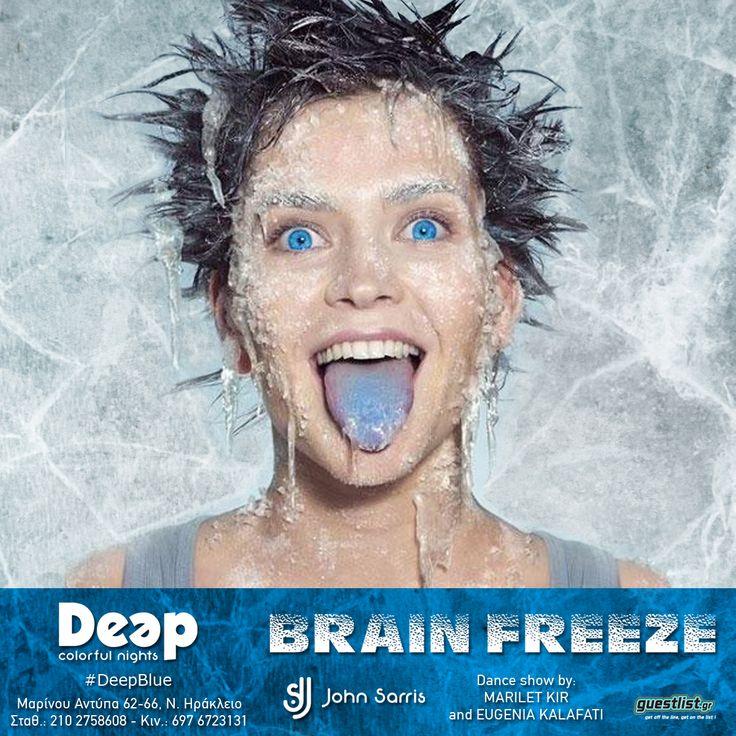 #BrainFreeze #DeepBlue