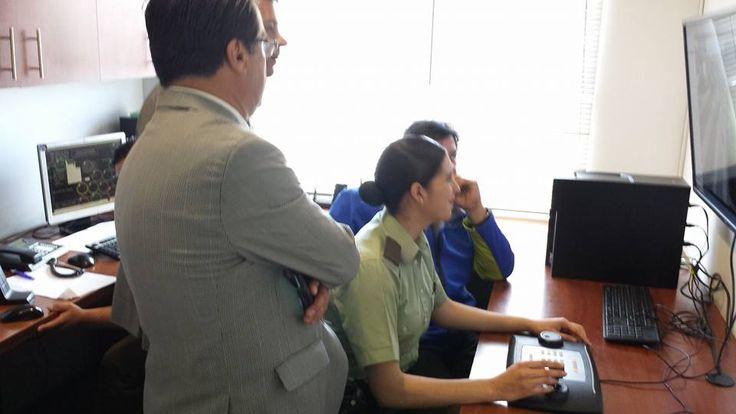 Mulisitio Carabineros de Chile en Conjunto con Municipalidad Utilizando Avigilon Control Center HDSM
