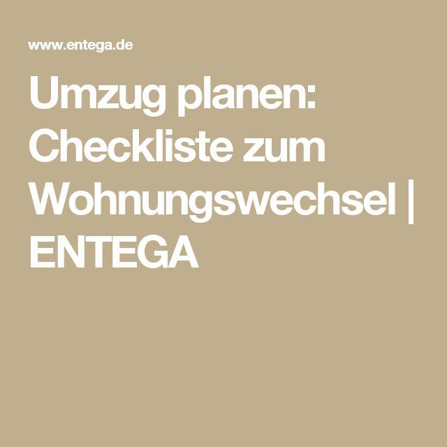 Umzug planen: Checkliste zum Wohnungswechsel | ENTEGA
