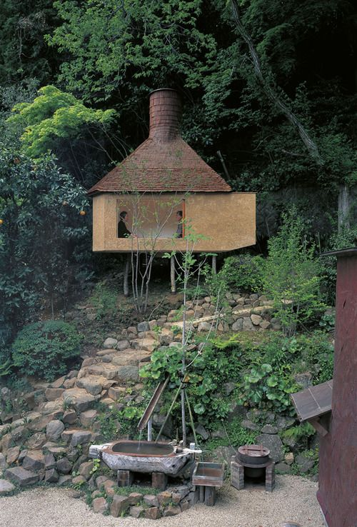 n-architektur:    Ichiya-tei, One-Night Teahouse  Terunobu Fujimori
