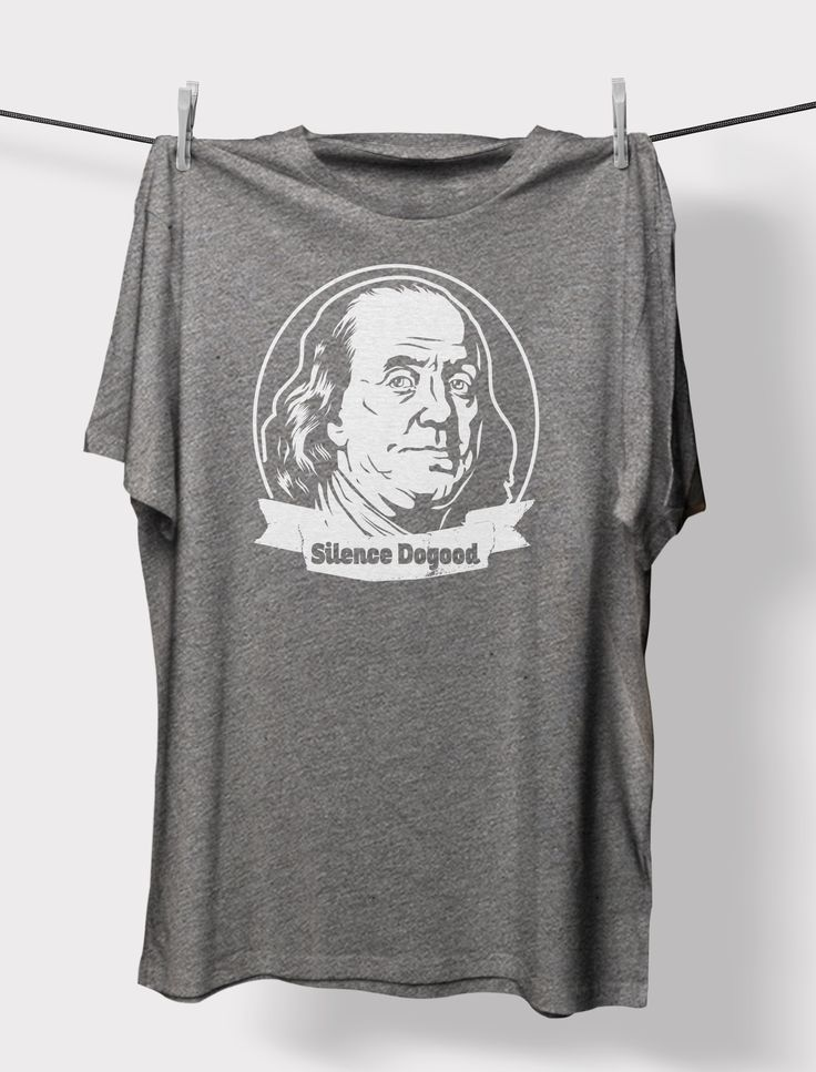 Benjamin Franklin, Silence Dogood Crewneck Unisex T-Shirt