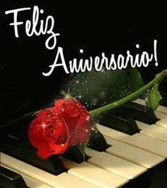 Feliz Aniversário Rosa Vermelha #felicidades #feliz_aniversario #parabens