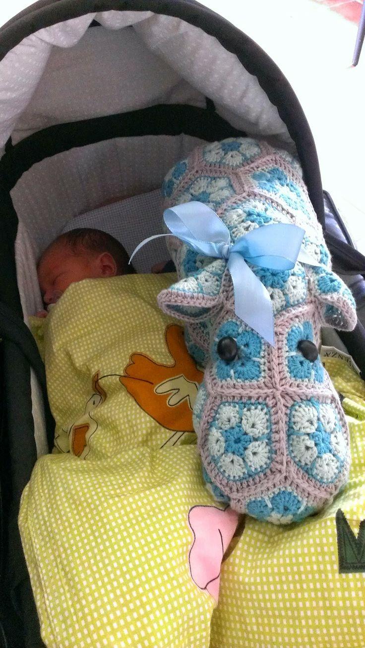 Mølgaards blog: Hr. Hippo  Min veninde har fået et dejligt lille v...
