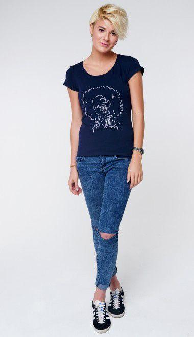 Вышивка на футболках для бренда G.CARDINAL