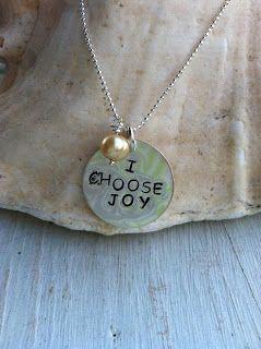 I Choose Joy! necklace