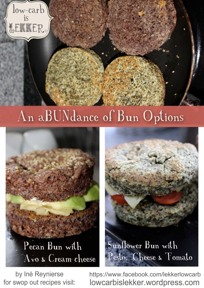 Finally, a LCHF bun that actually tastes like food... What's more, it's done in minutes...