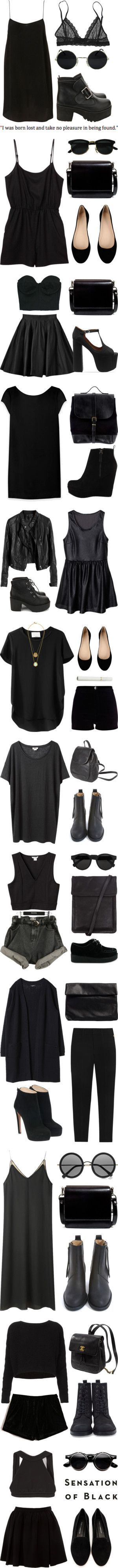 Little & black are not just for dresses! Jazz up your style with summery blacks!