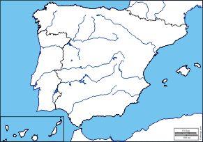 Spain: Free maps, free blank maps, free outline maps, free base maps
