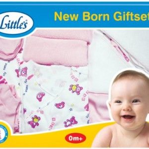 Littles-New-born-Giftset-Pink-and-white-0