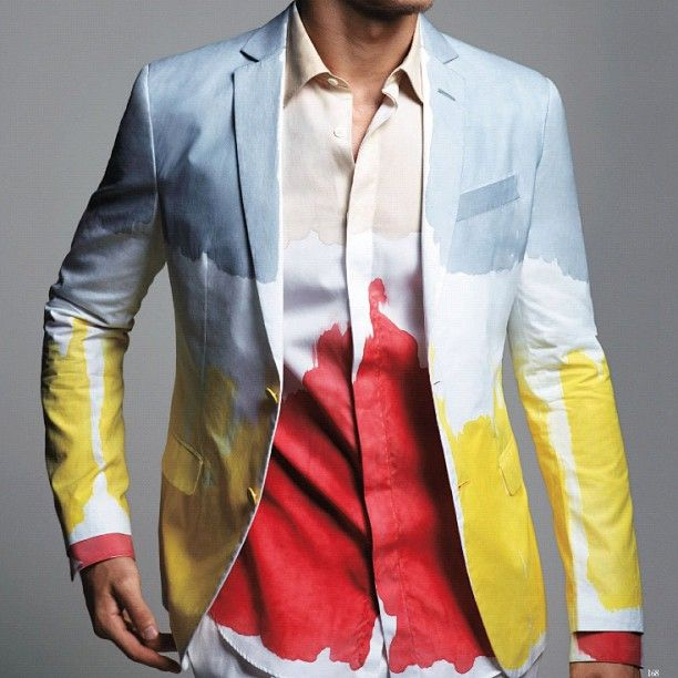 : Primary Colors, Fashion Statement, Colors Mixed, Colors Stories, Men Fashion, Homme Japan, Fashion Finding, Men Wear, Vogue Homme