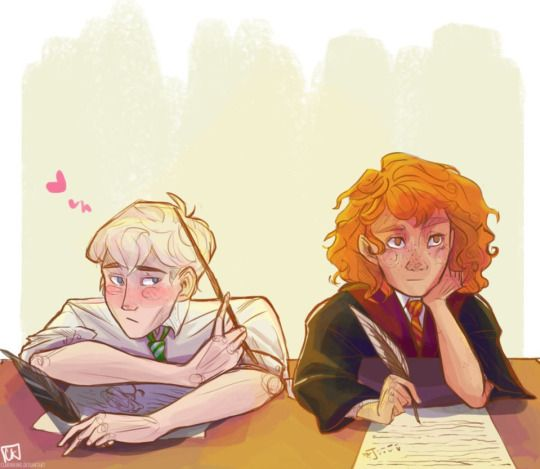 Scorpius and Rose