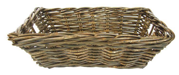 Wicker baskets from buffet