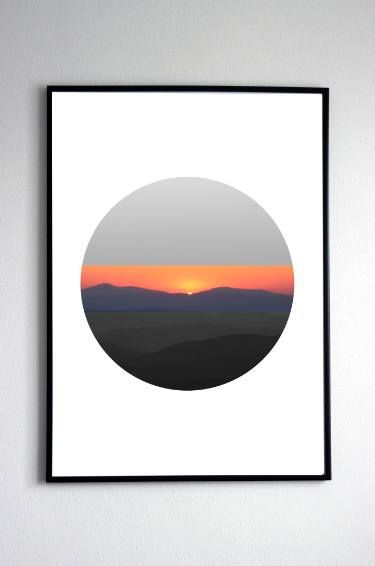 Sunset black and withe - Limited Edition 1 of 3