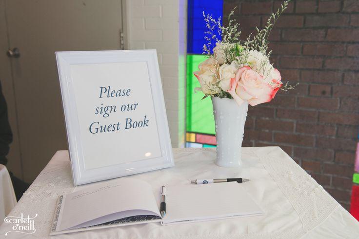 #churchwedding #guestbook