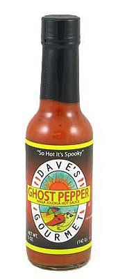 I want some = Dave's Ghost Pepper Naga Jolokia Hot Sauce 5oz $8.88