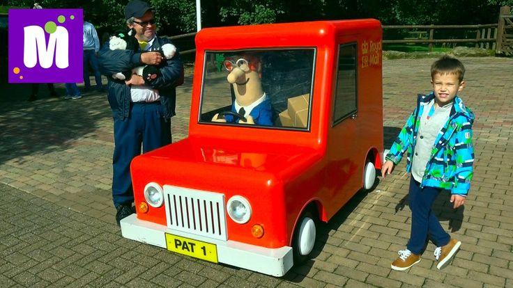 ВЛОГ завтрак в отеле и в Парк развлечений кататься на машинке Почтальона...