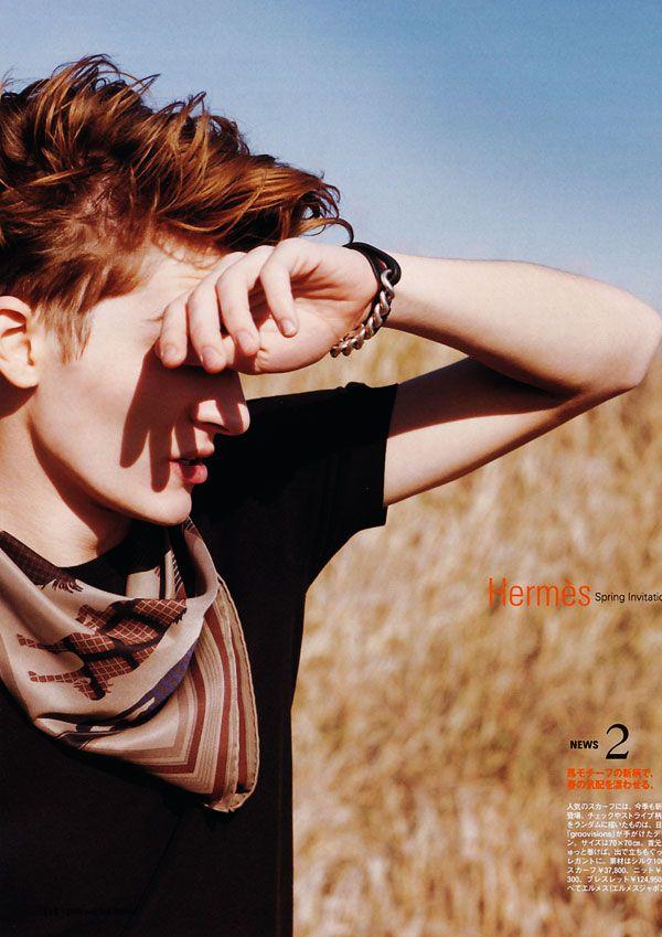 Hermès Spring Invitations | Matvey Lykov by Jennifer Rocholl for Pen