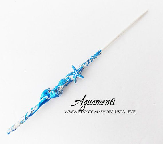 Aguamenti harry potter inspired wand clearance for Wand designs