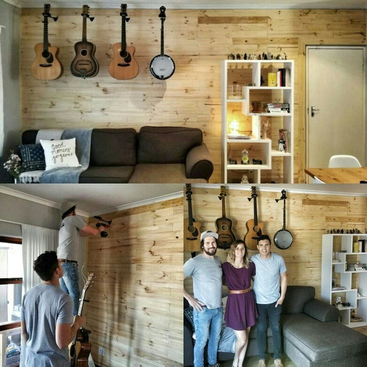 Pine Pallet Wall Cladding