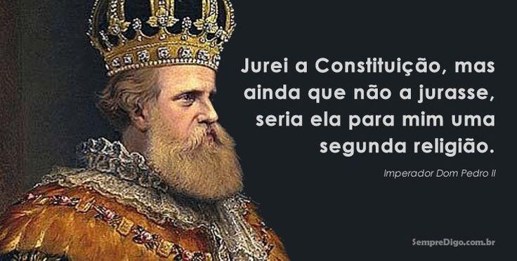 Biografia e frases do imperador Dom Pedro II