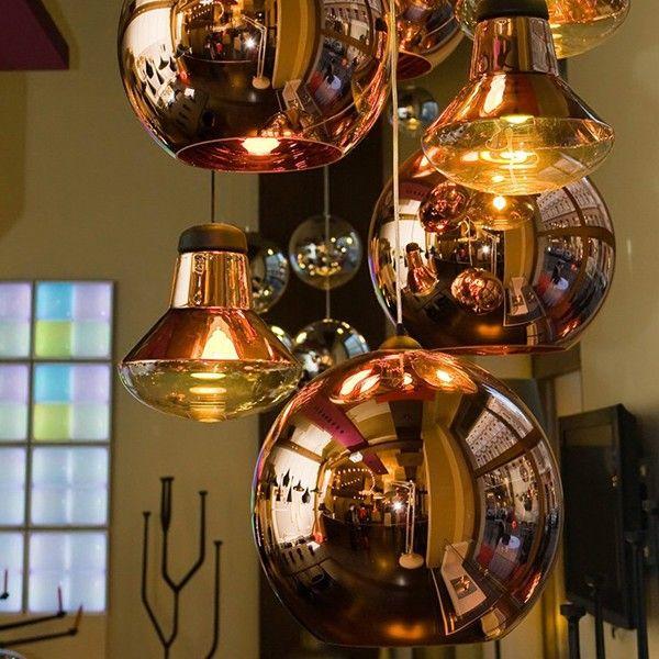 Tom Dixon Copper Shade 25 / 45 cm Pendant Lighting
