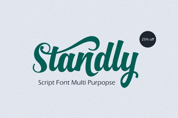 Standly is a font bold, so, brush script that is beautiful and unique, it is a model of modern calligraphy typefaces, in combination with a calligraphy writing style. The Features of this