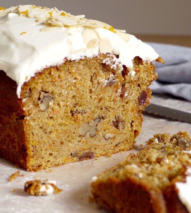 Kate Doran's glorious carrot cake recipe is laced with flavours of the traditional Simnel cake, offering a great alternative Easter cake idea. The cake is smothered in a luxurious almond cream cheese frosting for a wonderfully decadent finish.